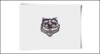 fox-from-mars-illustration-alice-im-wunderland-katze