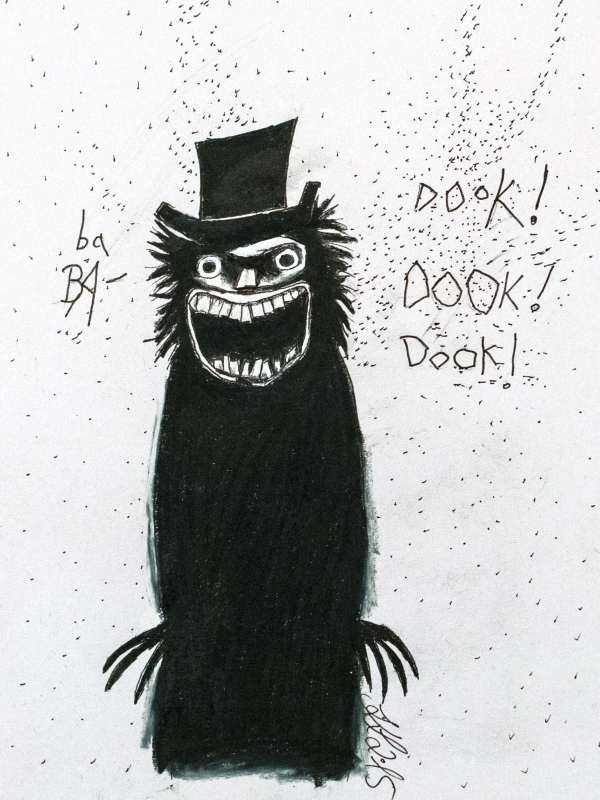 fox-from-mars-illustration-babadook-title